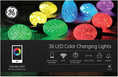 Led Lights G35 String Set : Holiday Gifts for FAMILY 2015